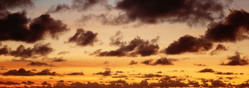 夕阳傍晚海报背景图
