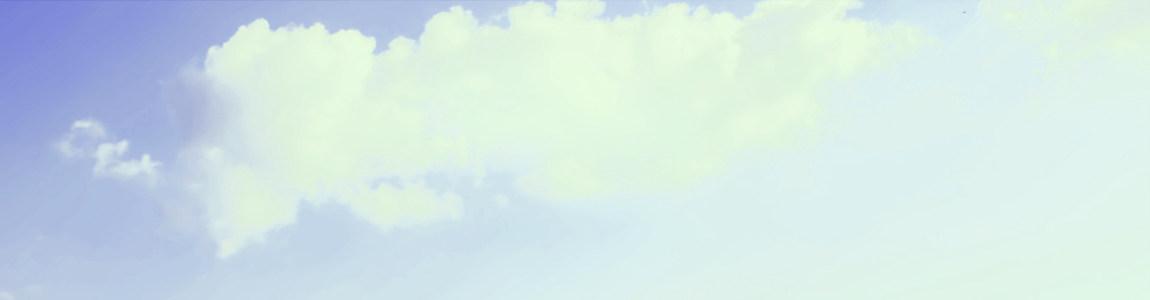 天空创意banner背景图