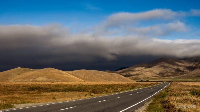 道路公路背景高清大图-道路背景自然/风光