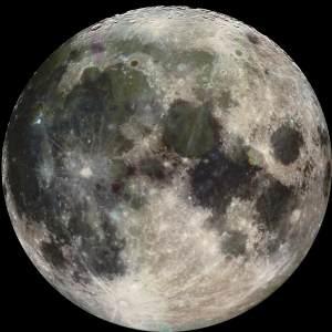 月球高清背景图片素材下载