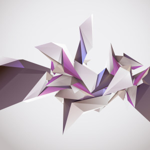 立体几何图案矢量背景高清背景图片素材下载