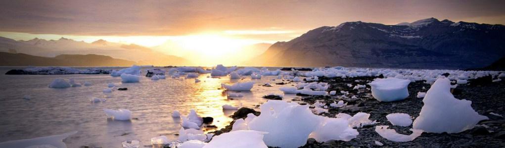 冰山唯美风景banner