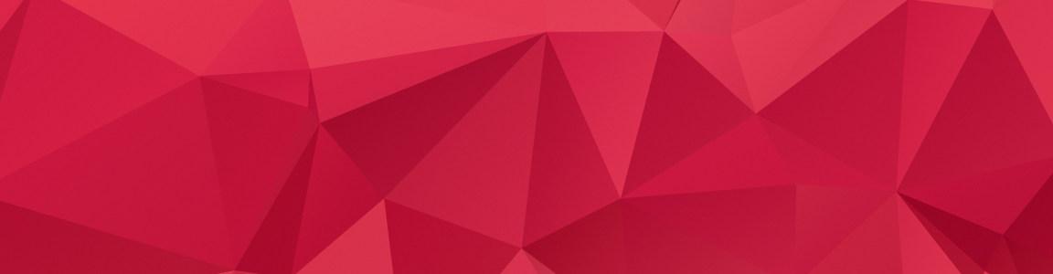 红色几何图形背景