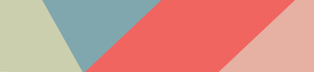 电商几何色彩块背景banner
