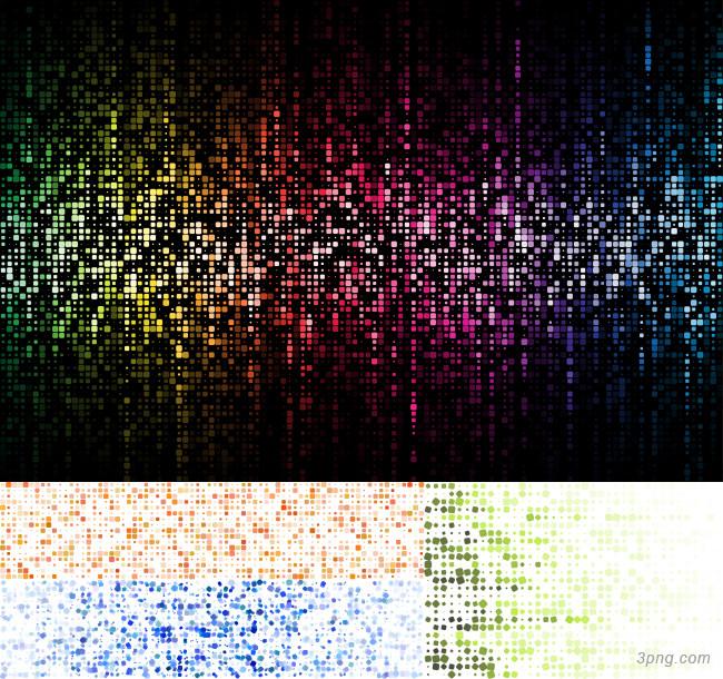 动感方块矢量背景背景高清大图-矢量背景底纹/肌理