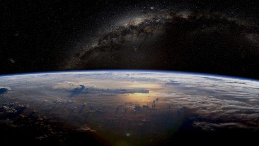 银河系空间背景高清背景图片素材下载