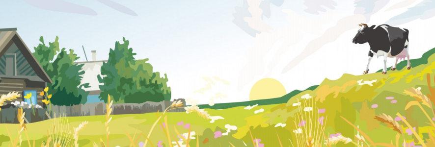 手绘场景banner