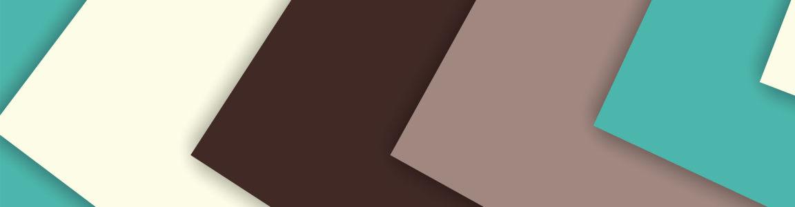 小清新几何多边形背景banner壁纸