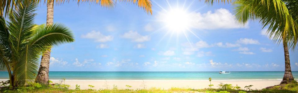 美丽海边景色海报背景高清背景图片素材下载