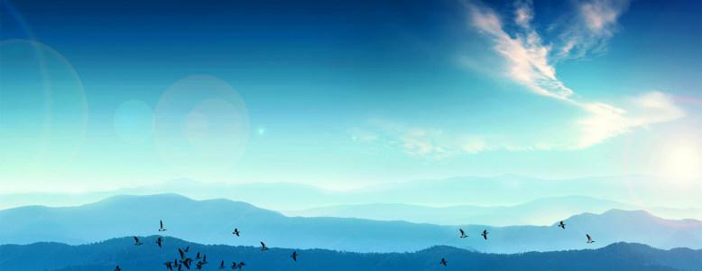 大气蓝色商务会议背景高清背景图片素材下载