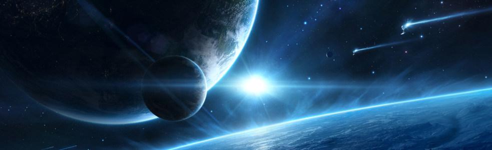 太空设计banner背景高清背景图片素材下载