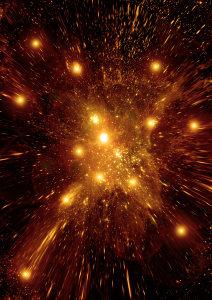 放射粒子光效高清背景图片素材下载