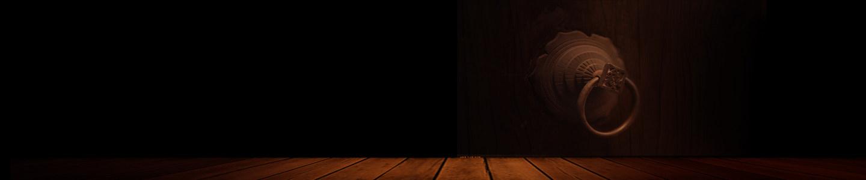 木质地板 黑色背景 门背景