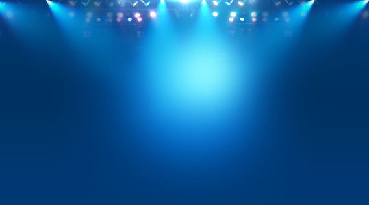 蓝色射灯背景