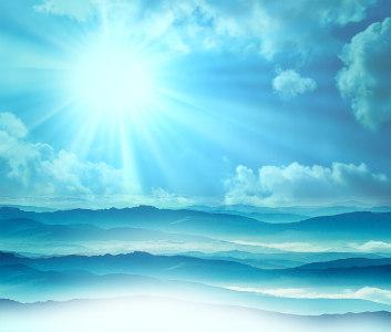 大气山脉背景高清背景图片素材下载