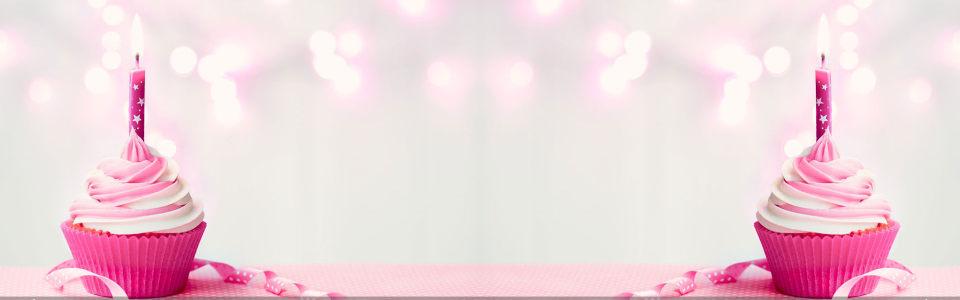 粉色蛋糕淘宝海报背景