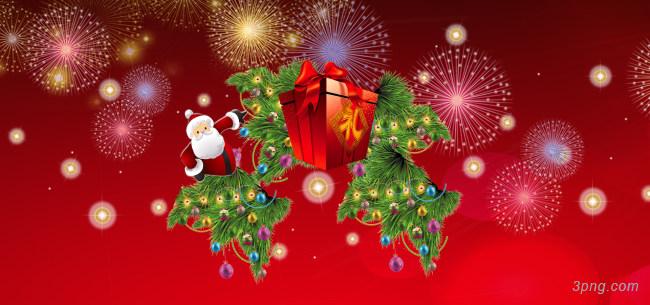 圣诞节背景背景高清大图-圣诞节背景底纹/肌理