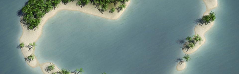 俯视湖泊高清背景图片素材下载