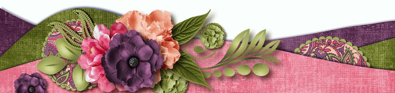 装饰花背景