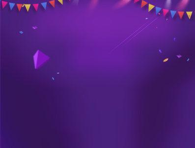 紫色活动背景