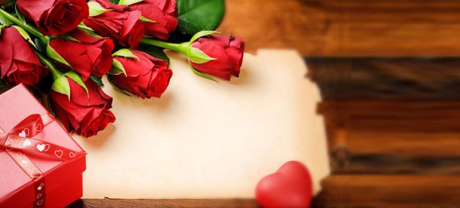 唯美大气盒装玫瑰花做旧海报背景高清背景图片素材下载