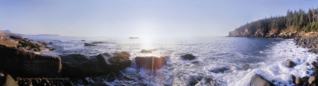 阿卡迪亚国家公园海报背景