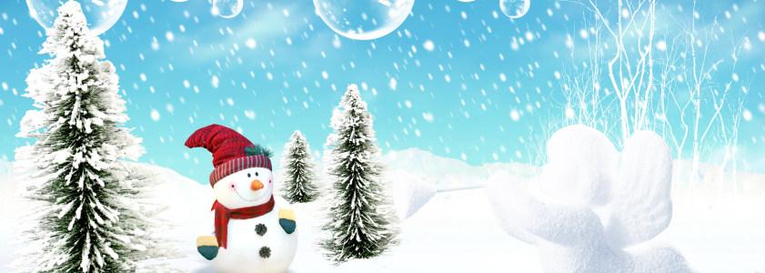圣诞节背景