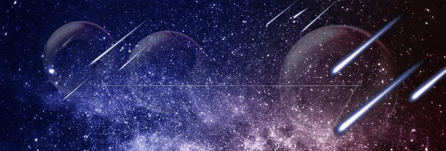 星空银河背景高清背景图片素材下载