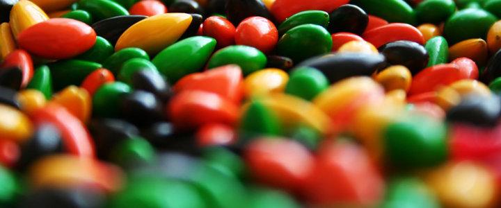 五彩 糖果 背景