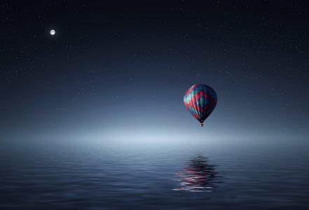 热气球高清背景