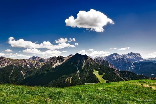 山峰山脉背景高清大图-山脉背景自然/风光