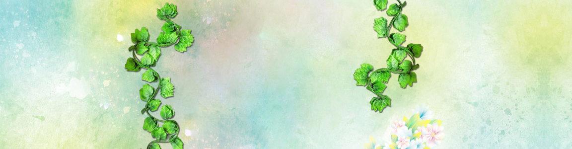 绿色藤蔓背景