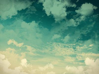 绿色天空背景