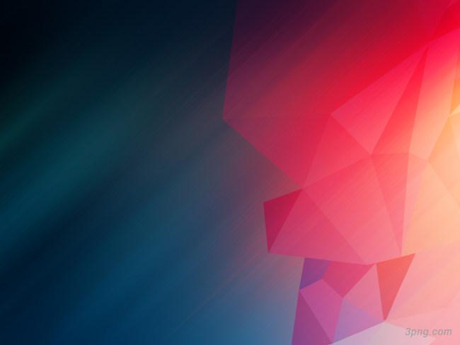 红蓝色渐变几何背景背景高清大图-渐变背景扁平/渐变/几何