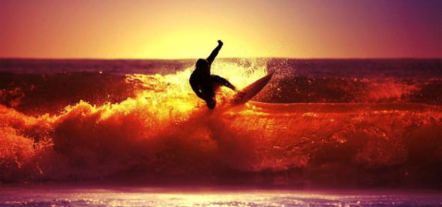 冲浪人物摄影