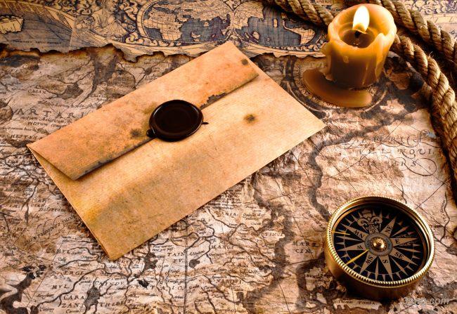 复古航海地图背景背景高清大图-航海背景底纹/肌理