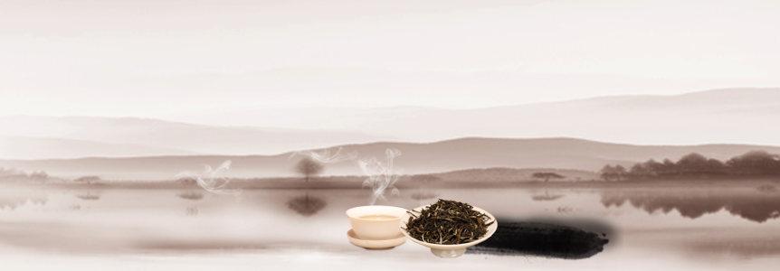 茶叶茶文化中国风背景banner高清背景图片素材下载