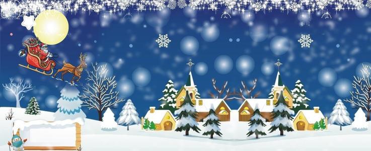淘宝圣诞背景