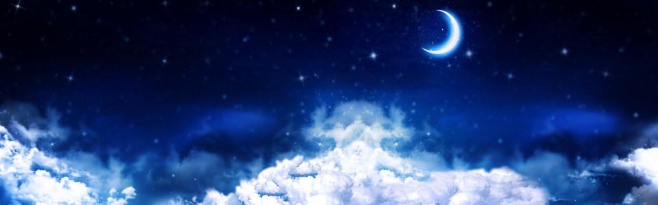 唯美天空背景海报