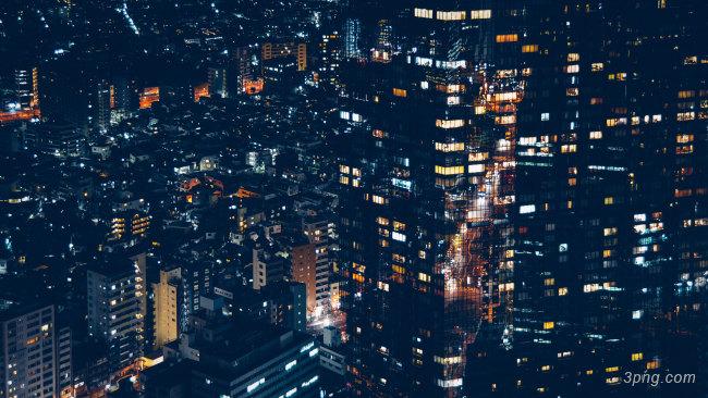城市夜景背景高清大图-夜景背景城市建筑