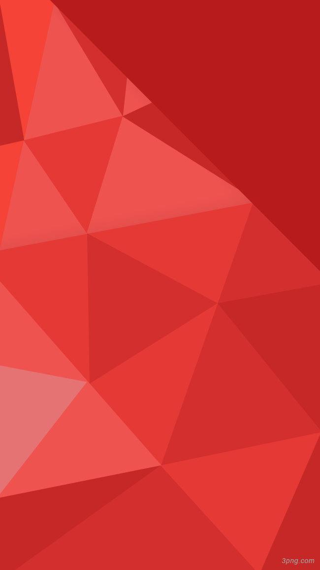 红色几何图形背景背景高清大图-几何图形背景扁平/渐变/几何