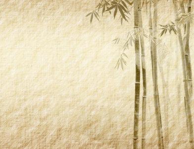 复古古典竹子背景