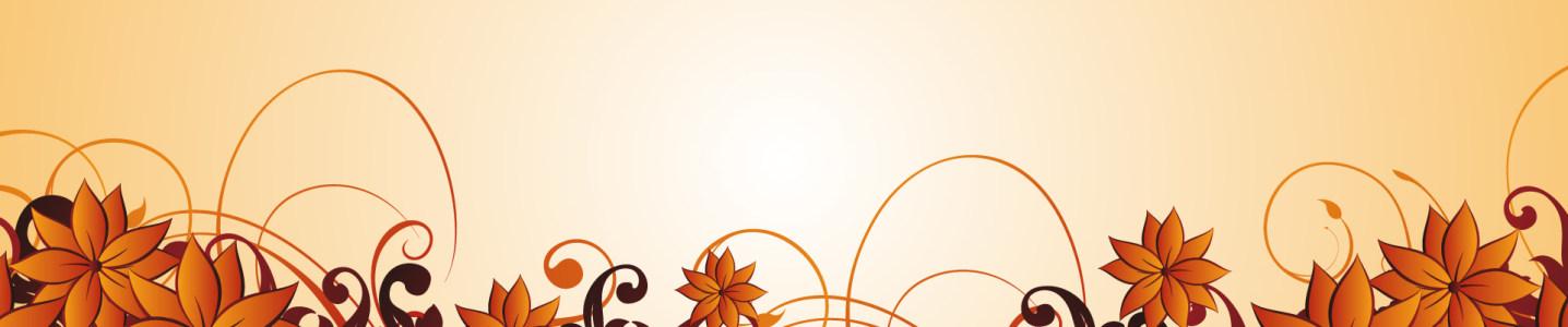 黄色花纹背景高清背景图片素材下载