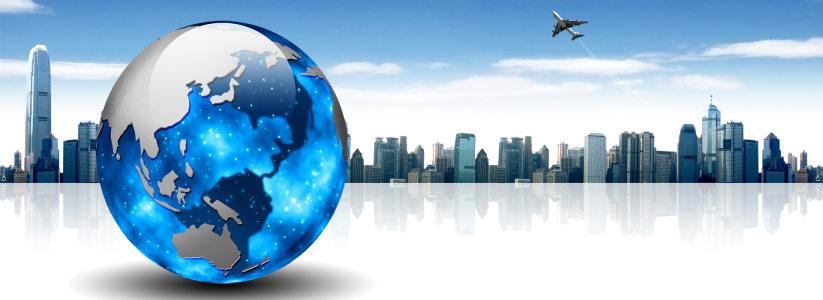 城市建筑背景高清背景图片素材下载