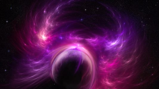 紫色星球空间背景高清背景图片素材下载