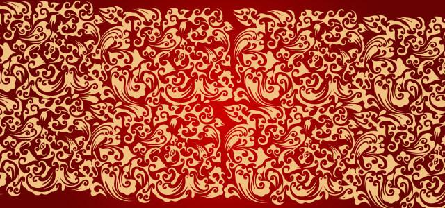 中国喜庆云纹纹理背景