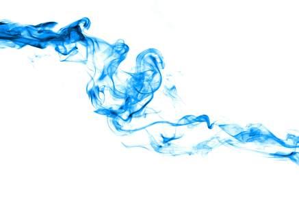 彩色烟雾水墨