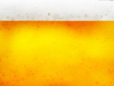 啤酒气泡背景