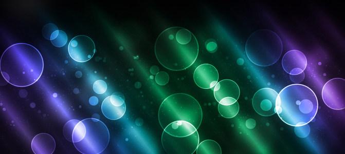 星光光环缤纷色彩背景图