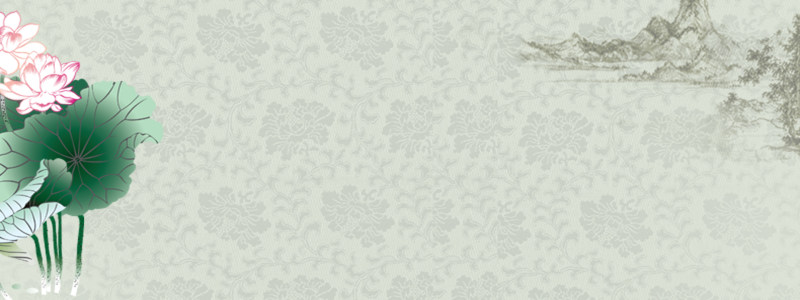 中国风荷花背景海报高清背景图片素材下载